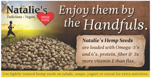 Hemp Seed Whole No Salt 1lb bag USA grown