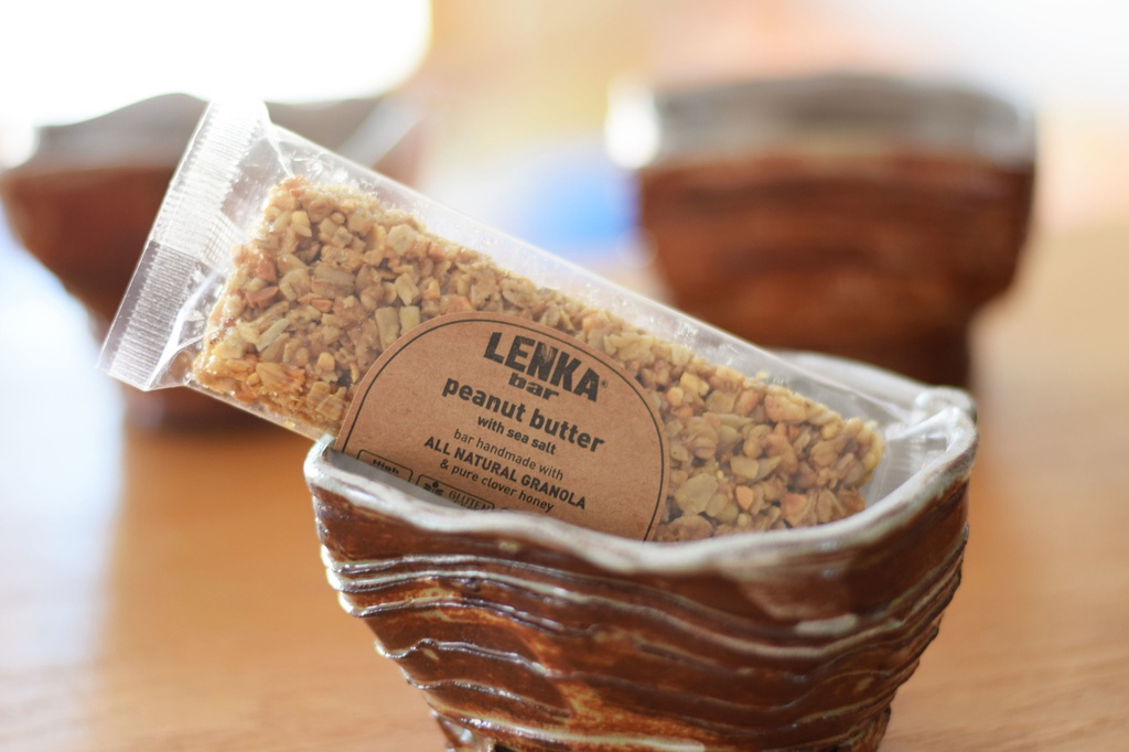 Granola Bar- Peanut Butter and Sea Salt Organic Lenka's- 2.25 oz bar