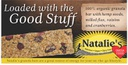 Natalies Hemp Flax Berry Bar