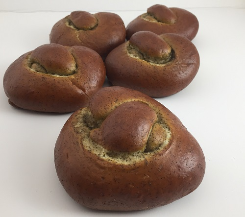 Soft Hemp Pretzel Rolls/Sliders Hempzel™ 4oz