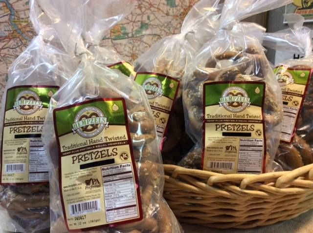 Case of Uncle Henry's Sourdough Hempzels™ 16 oz Case 9 bags