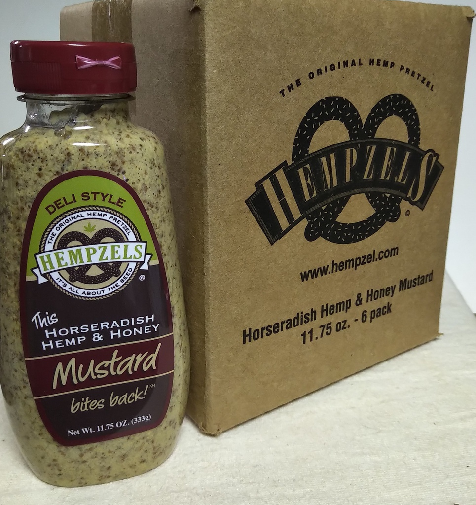 Mustard 6 packs Hempzels™
