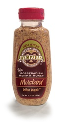 Mustard Hempzels™ Horseradish Hemp & Honey Bottle