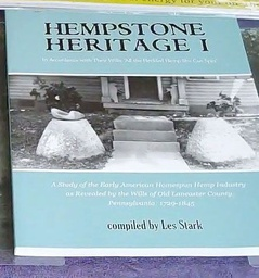 Hempstone Heritage Book Lancaster Research