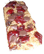 [604-R1] Chocolate Cranberry Organic Granola Bar 2.25oz