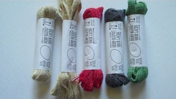 Shoelaces hemp and wool by No Problem, Inc limited supply