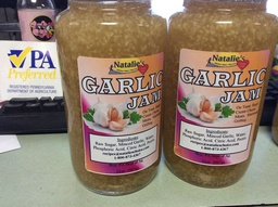 [JA_GA32oz] Jam Sweet Garlic- 32oz glass jar Family Foodservice