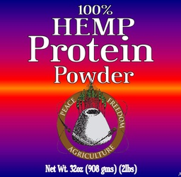 [Protein] Hemp Protein Powder 24oz Bag 50% per serving