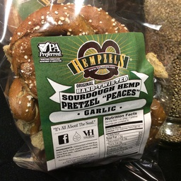 Sourdough Garlic Hempzels™ Pretzels 8oz Bags